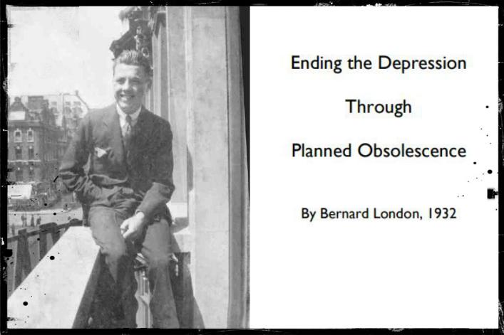[À l'origine] L'obsolescence programmée inventée en 1932 pour lutter contre le chômage de masse