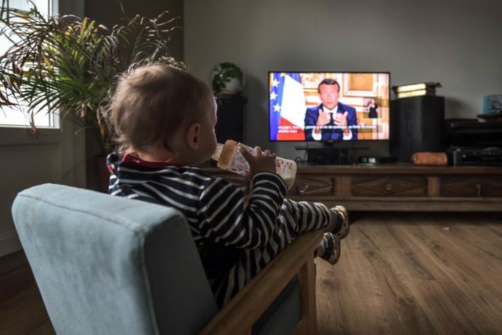 Coronavirus Emmanuel Macron Donne Un Cap Social Au Monde D Apres Sans Indiquer La Route Precise