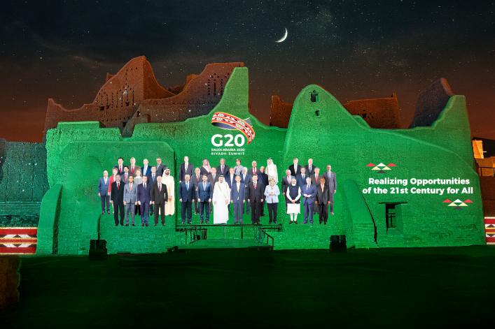 Internationale - Le G20 promet de