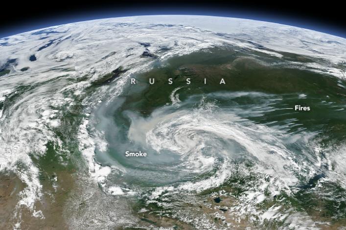Vidéo - Réchauffement climatique grosse mite ou raelité ? (1) - Page 39 Incendie-articque-siberie-espace-earthobservatorynasa
