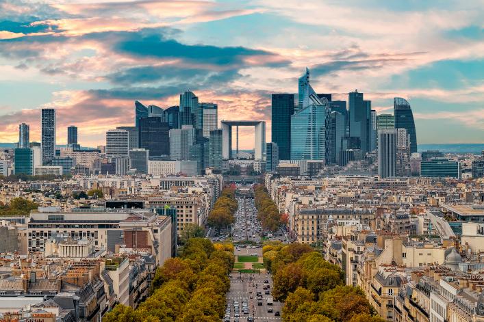 La Defense Paris Augustin Lazaroiu