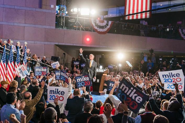 Bloomberg va enfin débattre avec ses adversaires — Primaires démocrates