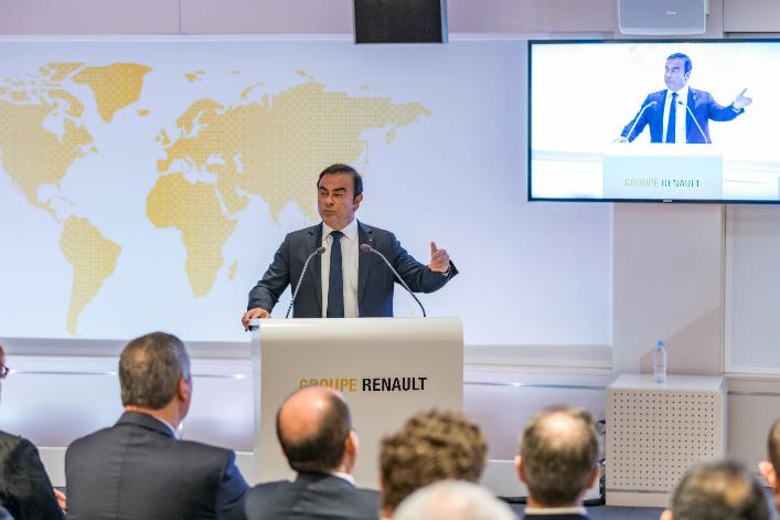 Carlos Ghosn a été renouvelé à la tête de Renault le 15 février