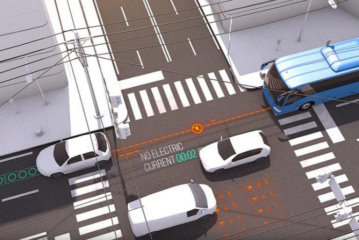 video en isra l les routes rechargent les voitures lectriques. Black Bedroom Furniture Sets. Home Design Ideas