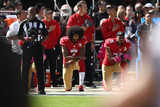 Colin Kaepernick anti Trump egerie Nike EZRA SHAW GETTY IMAGES NORTH AMERICA AFP