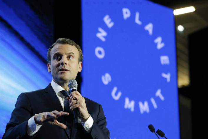 Macron One Planet Summit