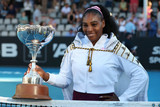 Serena Williams AUckland MichaelBradley AFP 01