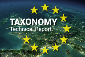 Taxonomy technocal report union europeenne UE