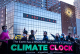 Union square climate clock