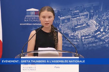 Capture d ecran greta thunberg assemblee nationale 230719