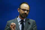 Edouard philippe charly triballeau AFP