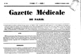 Gazette medicale de paris 1833
