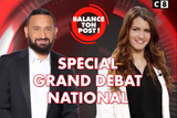 Grand debat Schiappa Hanouna C8
