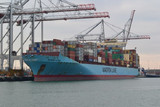 Maersk conteneurs David Martin Creative Commons Licence
