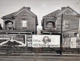Walker evans houses and bilboards in Atlanta 1936