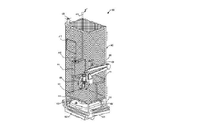 Amazon a brevet une cage pour ses salari s afin d 39 assurer leur s curit - United states patent and trademark office ...