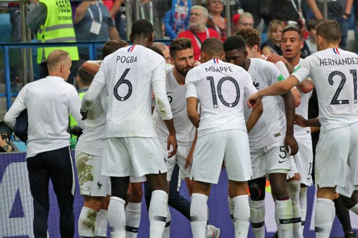 Champions du monde les bleus vont reverser une partie de - Toute les coupe du monde de football ...