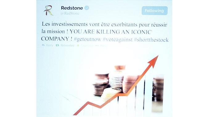 Tweet redstone